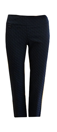 Lisette L NEW Ankle Pant Royal Blue and Black Circles
