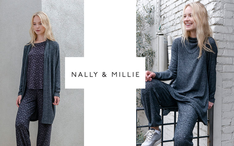 comfy grey lounge wear