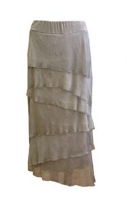Tempo Paris taupe skirt