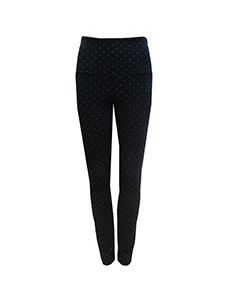 dot ponte leggings
