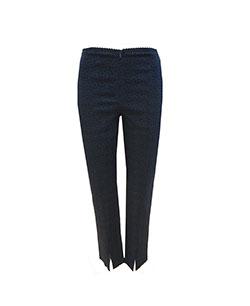 geo prints pants black & navy