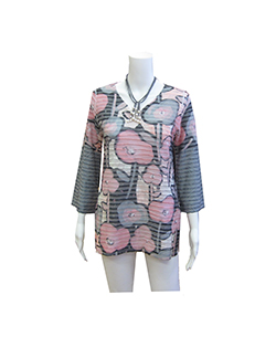 rose banded tunic