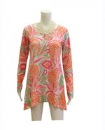 Whismy Rose Abigail Tunic Pineapple Coral