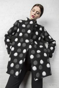 Damee Polka Dot Jacket