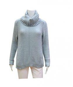 Blue Turleneck Sweater