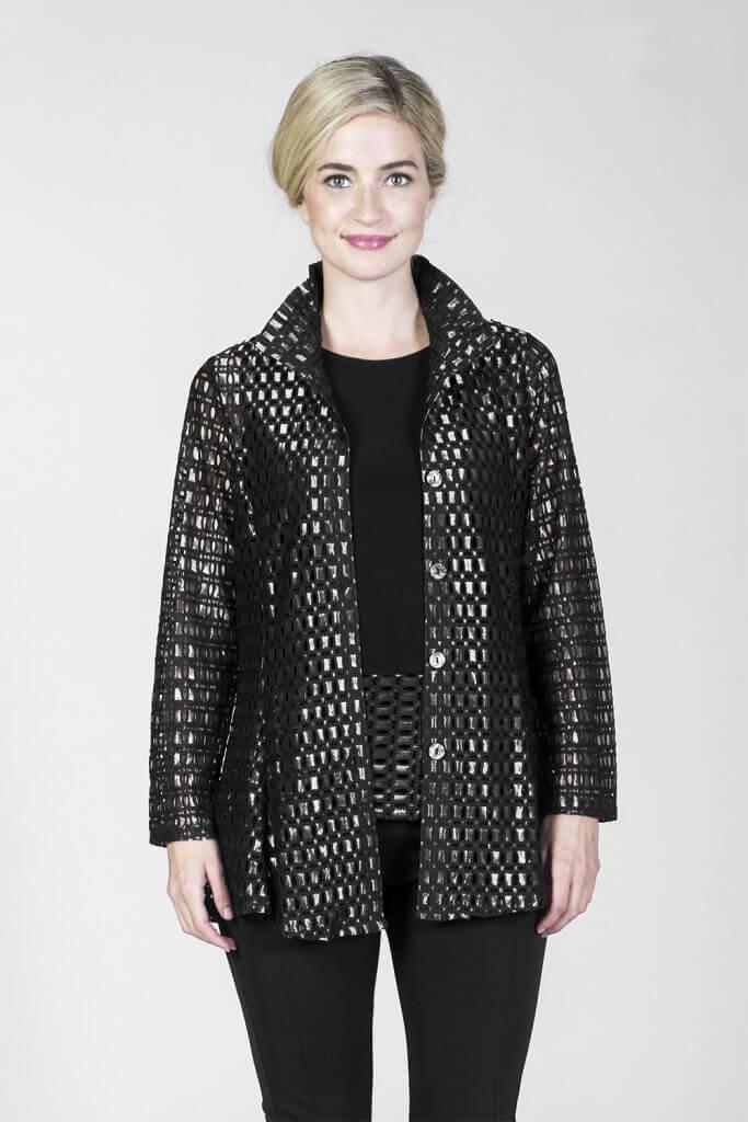Black Shimmer Jacket