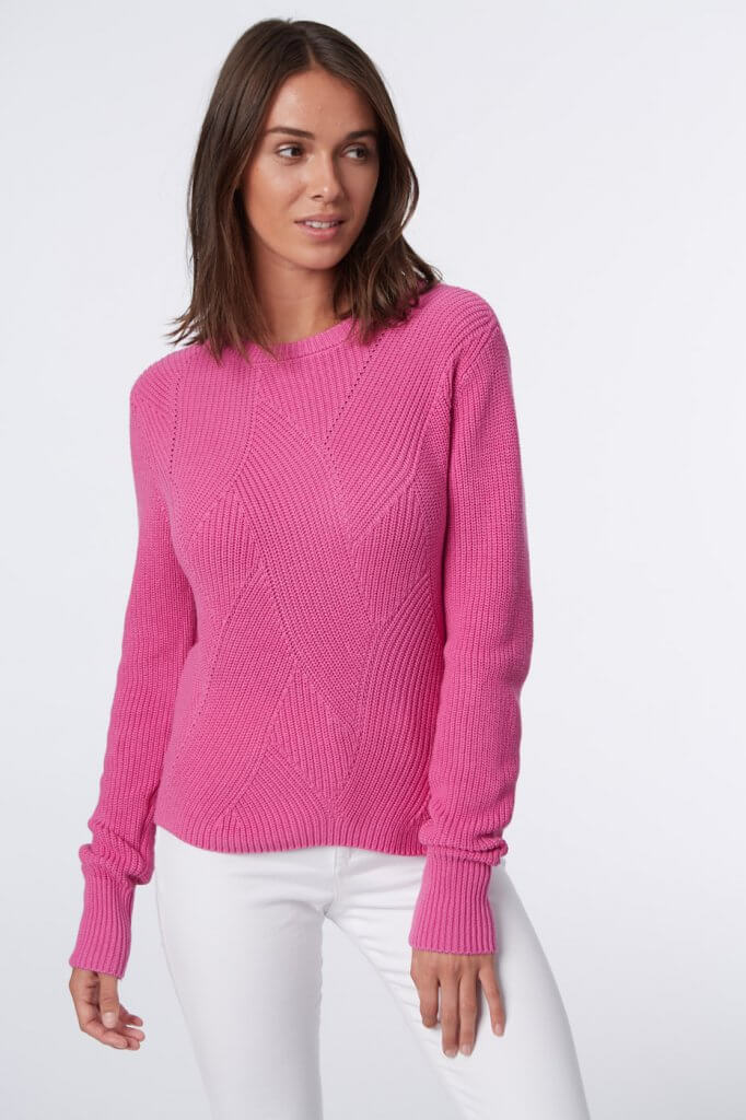 525 sweater in pink