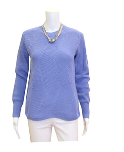 525 sweater in perwinkle