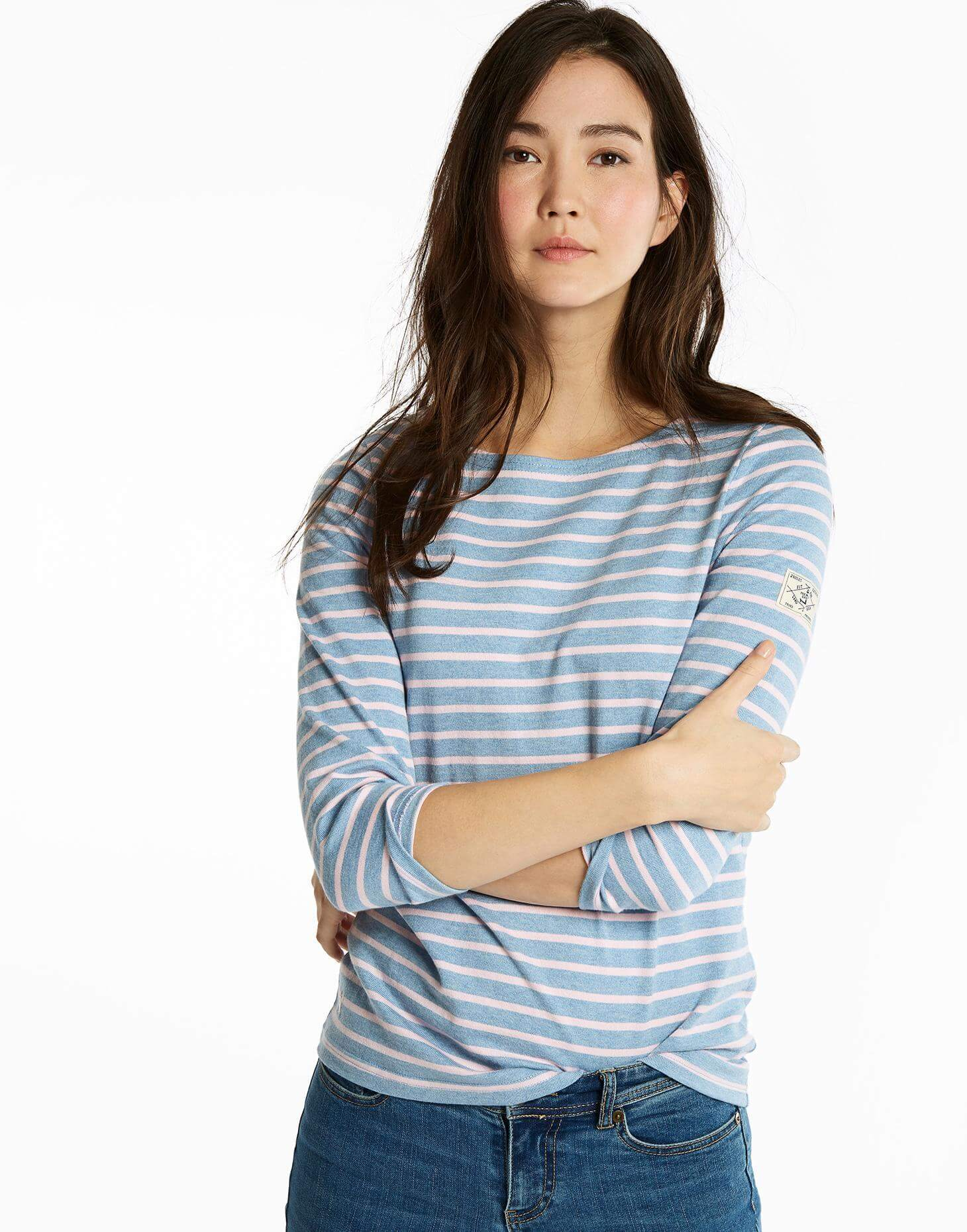 Joules Striped Harbour Top