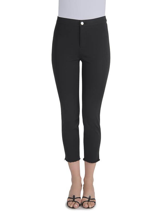 Lysse Rae Crop Pant in Black
