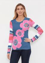 b5fcf1b1d5 Whimsy Rose L/S Thermal Poppy Navy Pink