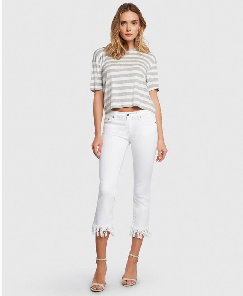 Optimist Magnolia Cropped Jeans