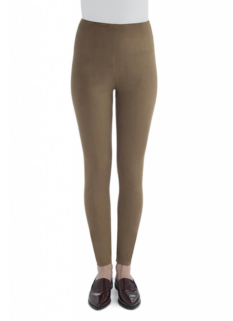 Lysse Toffee Suede Leggings