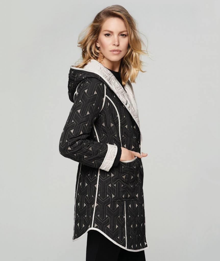 Blyse sweater coat