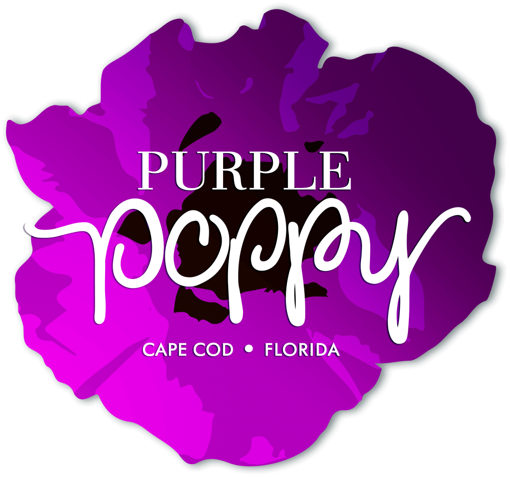 Purple Poppy location logo