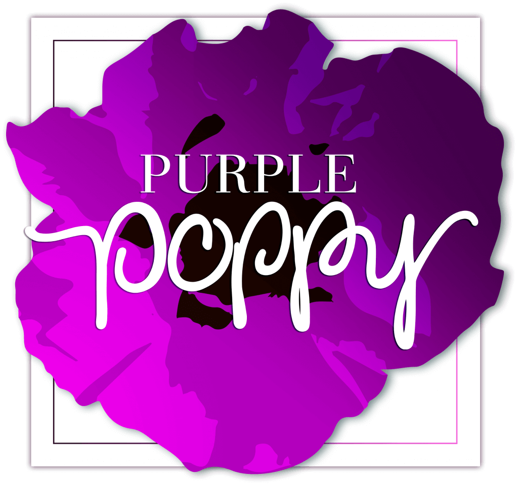 Purple poppy logo