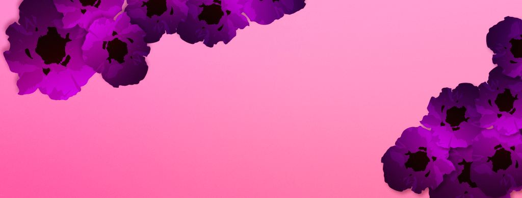 purple poppy banner image