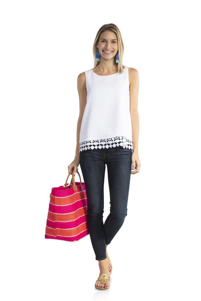 Sale to Sable Poly Crepe Tank Top